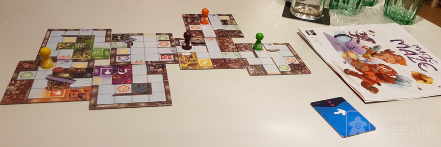 Magic Maze co-op board game