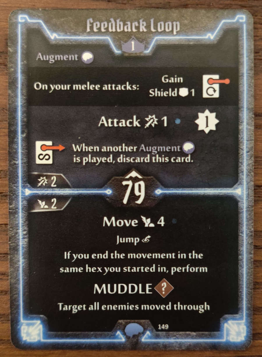 Mindthief level 1 card Feedback loop