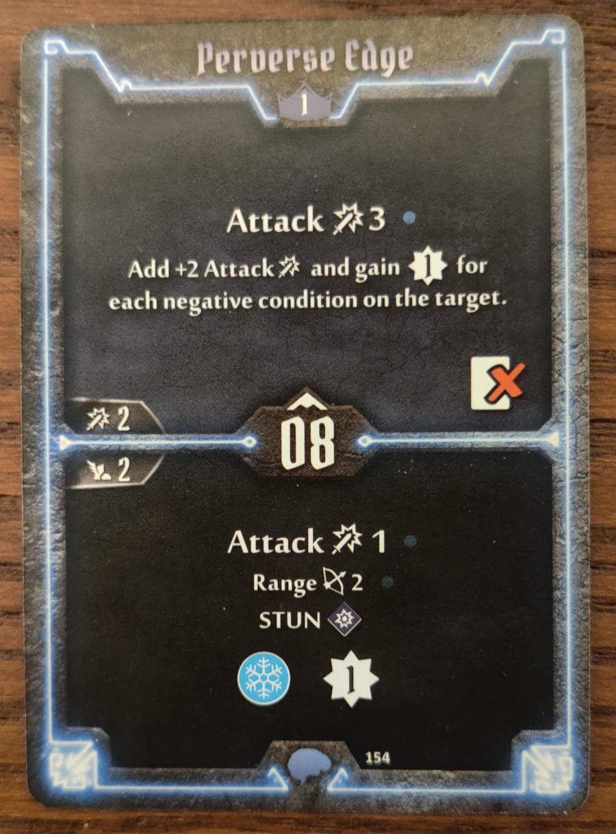 Mindthief level 1 card Perverse Edge