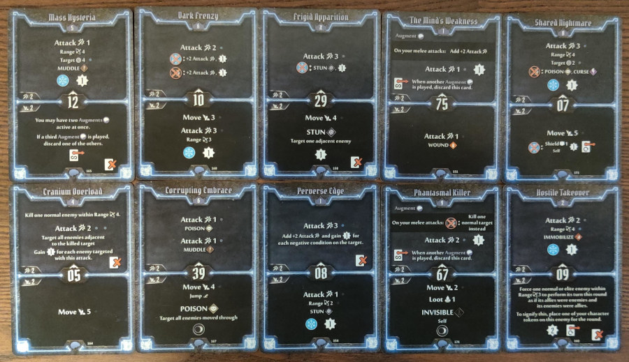 Mindthief level 9 cards Many as One, Phantasmal Killer