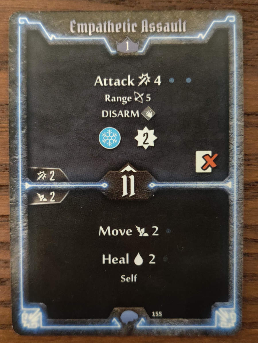 Mindthief level 1 card Empathetic Assault