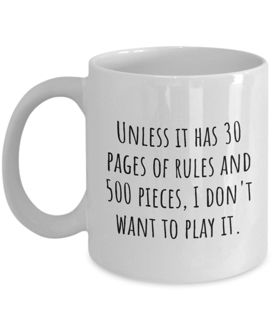 Board game mug. Image credit: Real People Goods Etsy