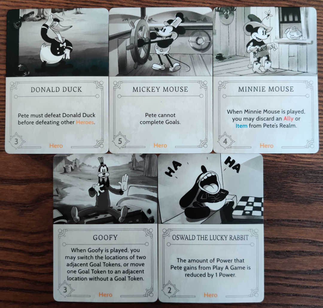 Play these Fate cards to annoy Pete in Disney Villainous