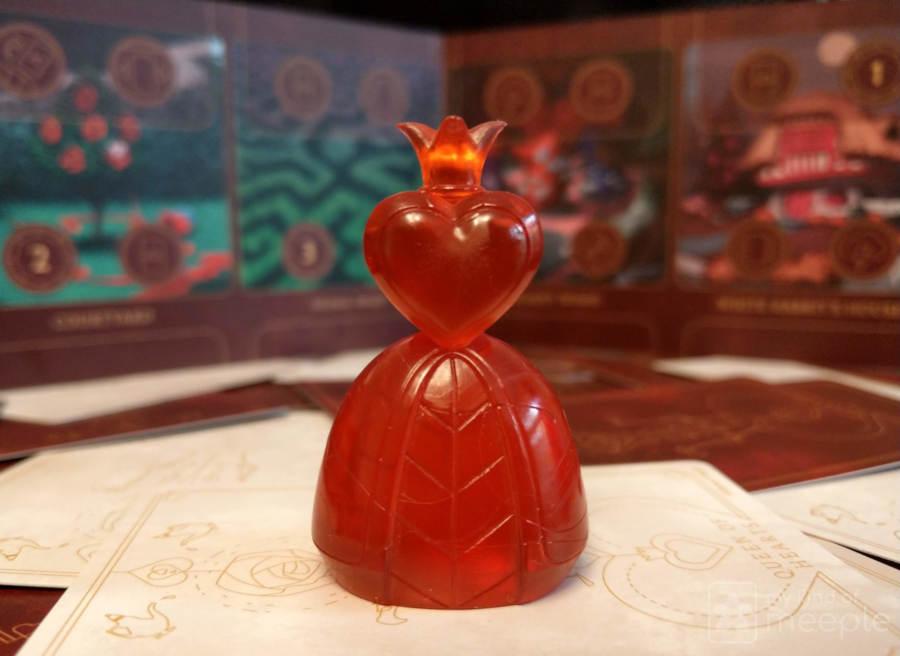 The Queen of Hearts mini in Villainous