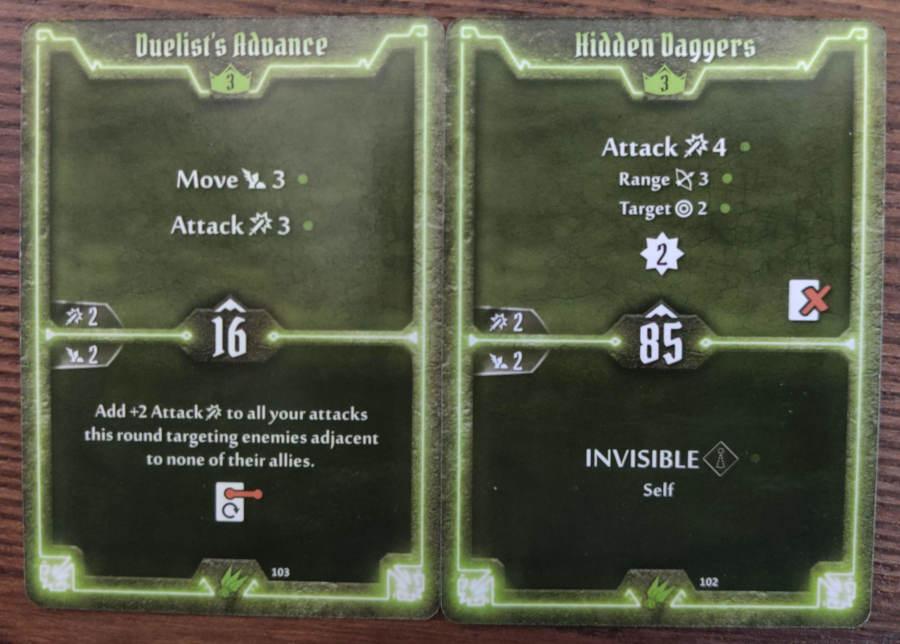 Scoundrel cards level 3 - Duelist's Advance, Hidden Daggers