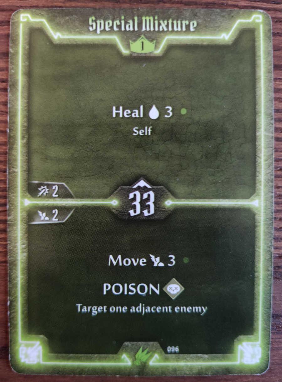 Scoundrel card Special mixture