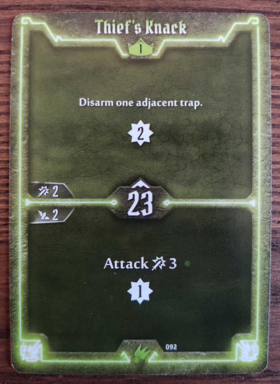 Scoundrel card Thief's Knack