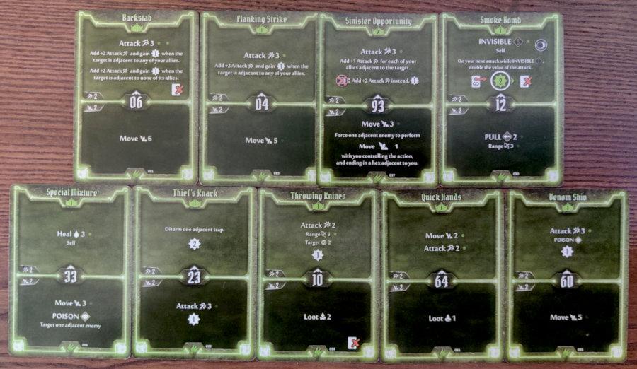 Scoundrel single target Poison level 1 deck