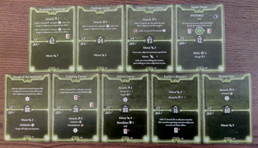 Scoundrel single target Poison deck level 8