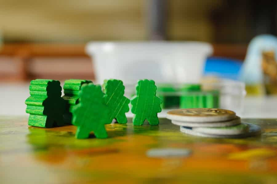 Meeples in Stone Age
