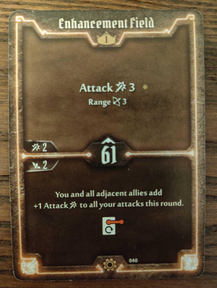 Tinkerer Enhancement Field card
