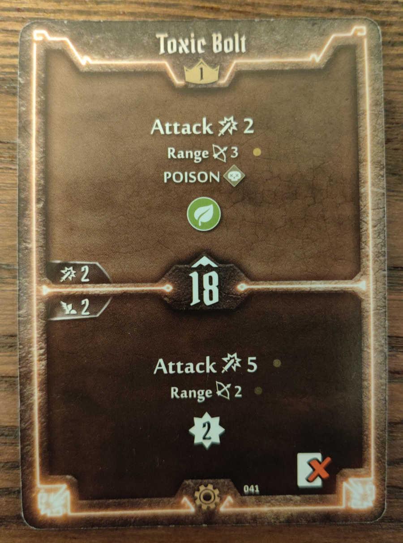 Tinkerer card Toxic Bolt