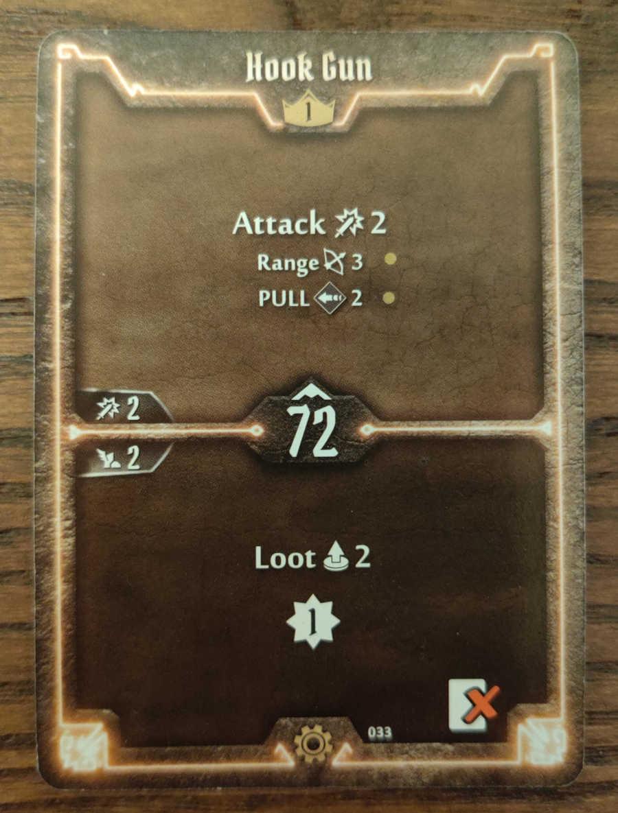 Tinkerer Hook Gun card