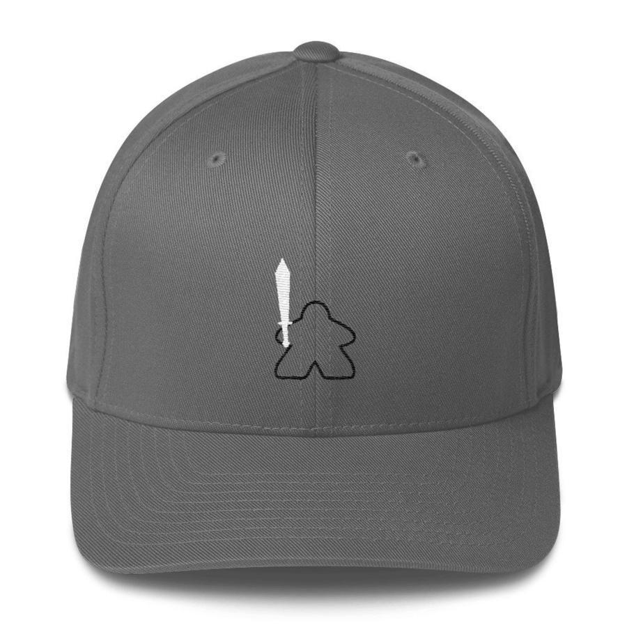 Tiny Epic Meeple baseball cap. Image credit: Manatee Gifts on Etsy.