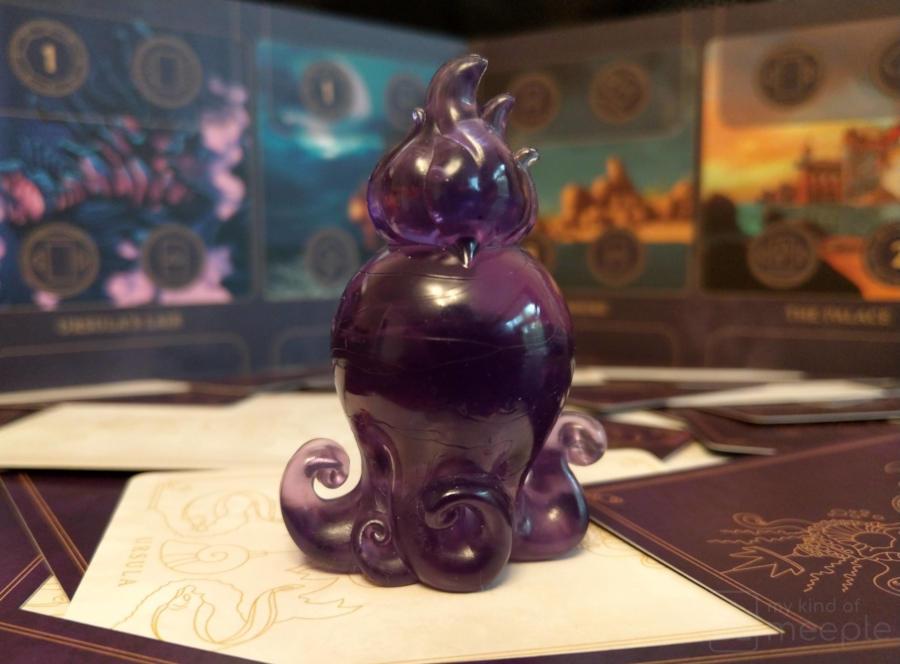Ursula's mini in Villainous