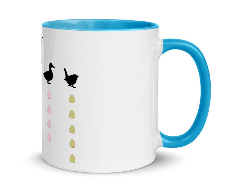Wingspan mug. Image credit: Meeple Merch on Etsy.