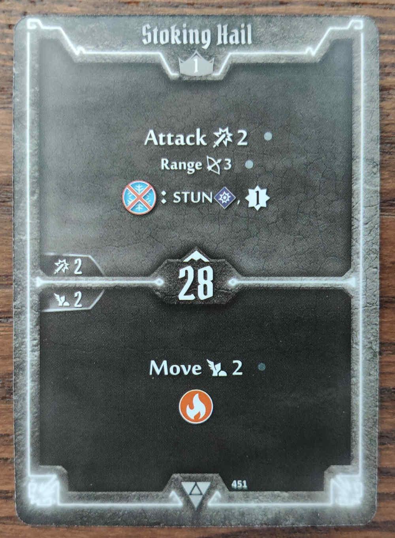 Elementalist card Stoking Hail