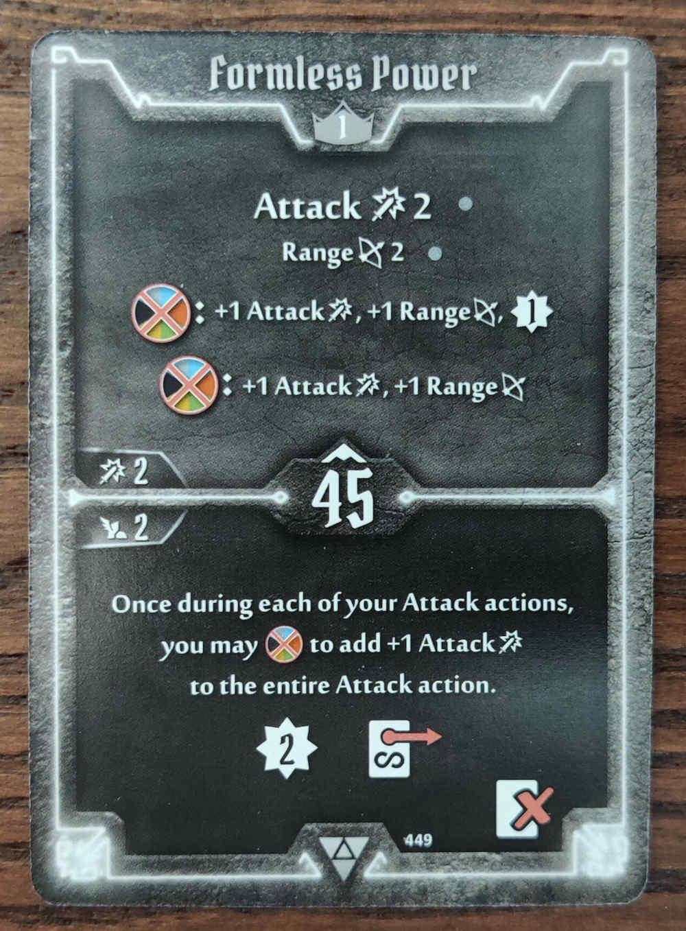 Elementalist Formless power card