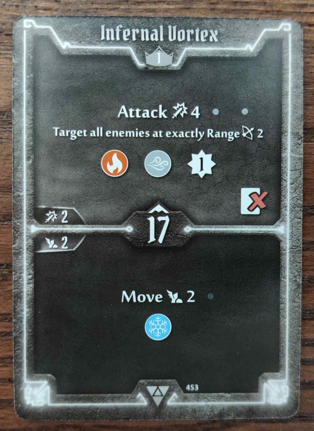 Elementalist Infernal Vortex card