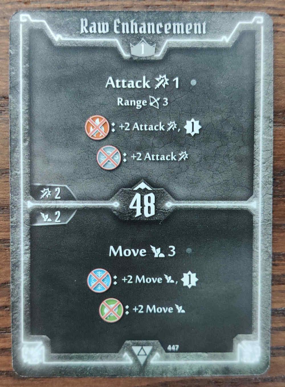 Elementalist card Raw Enhancement