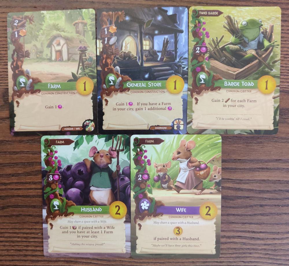 Everdell farm synergy cards