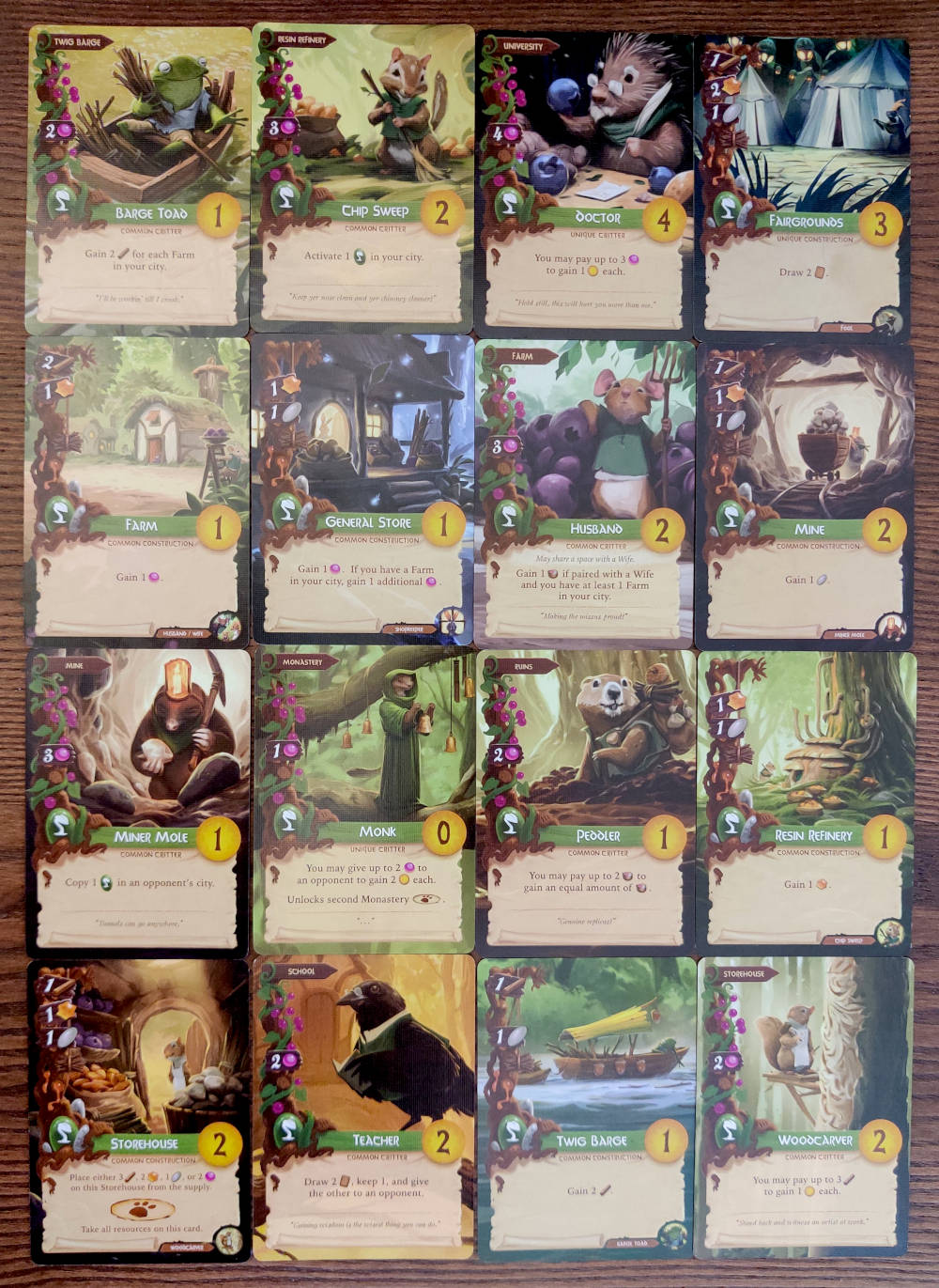 Everdell green cards