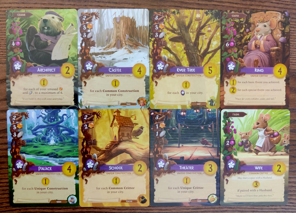 Everdell purple cards