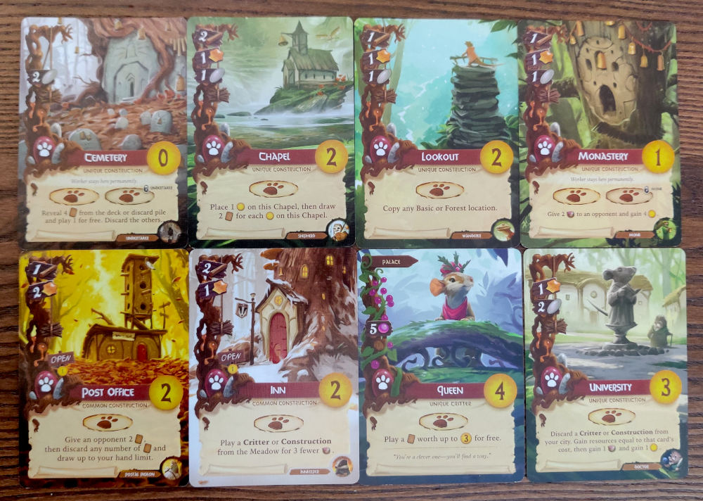 Everdell Red Destination cards