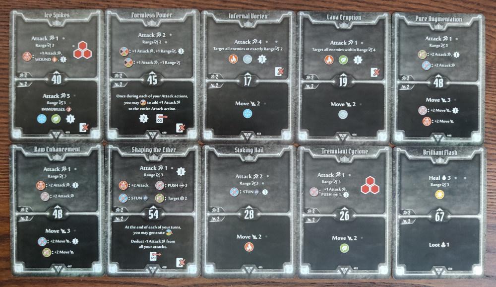 Elementalist AoE Damage deck level 1