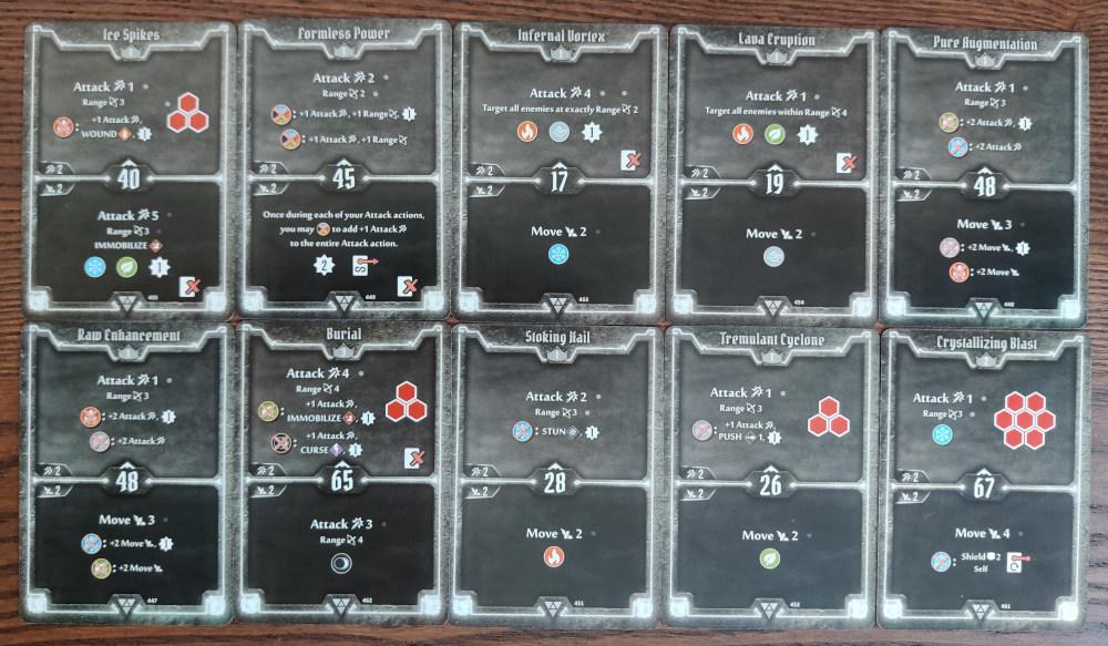 Elementalist AoE Damage deck level 3