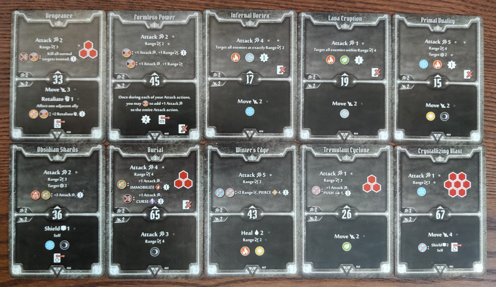 Elementalist AoE Damage deck level 8