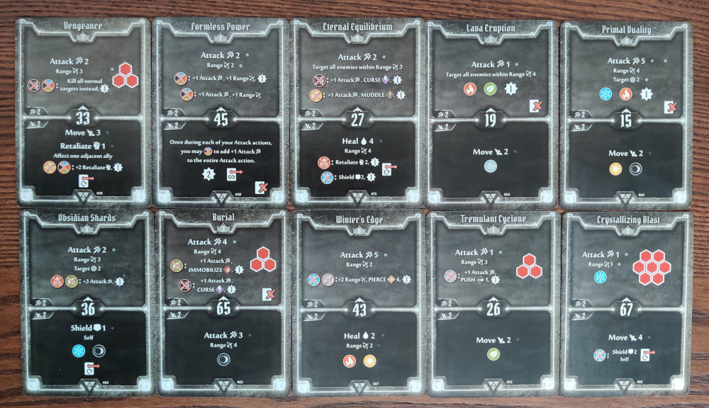 Elementalist AoE Damage deck level 9