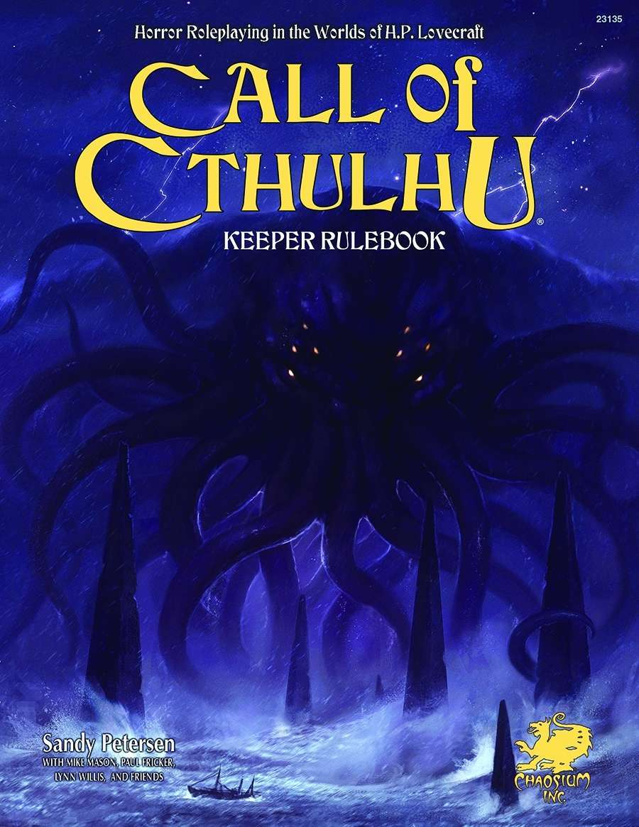 Call of Cthulhu rpg cover