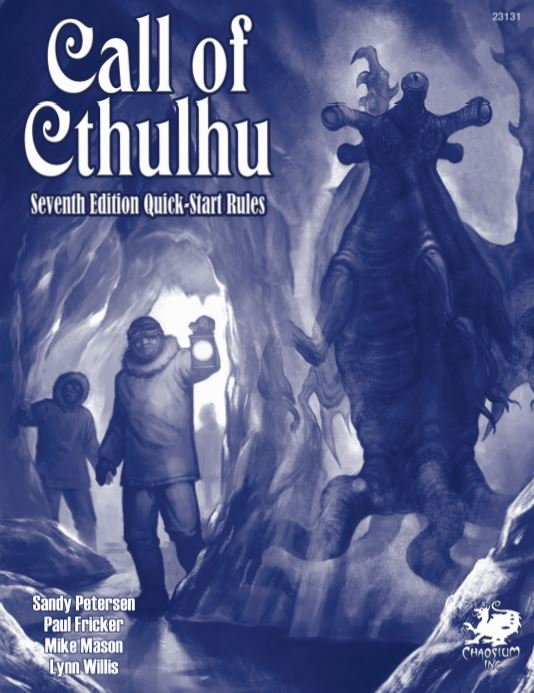 Call of Cthulhu Quick Start horror RPG cover
