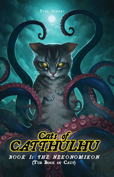 Cats of Catthulhu rpg cover. Image credit: DriveThruRPG.