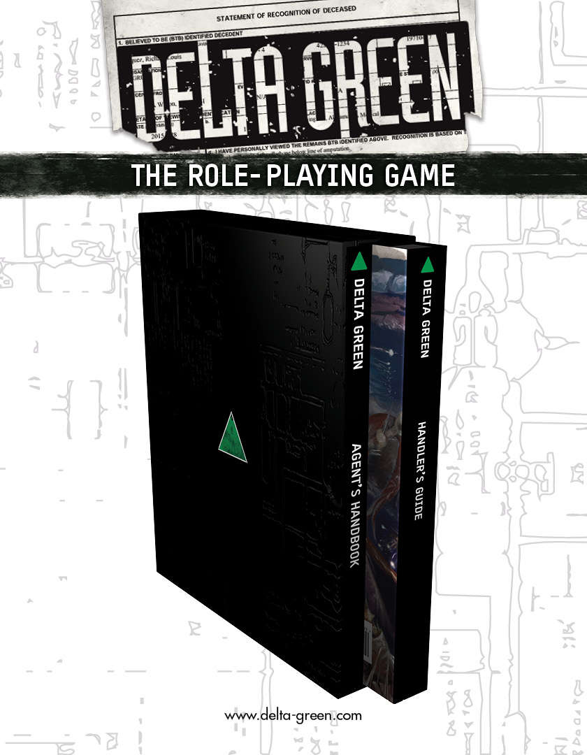 Delta Green RPG. Image credit: DriveThruRPG