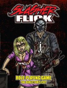 Slasher Flick RPG cover.