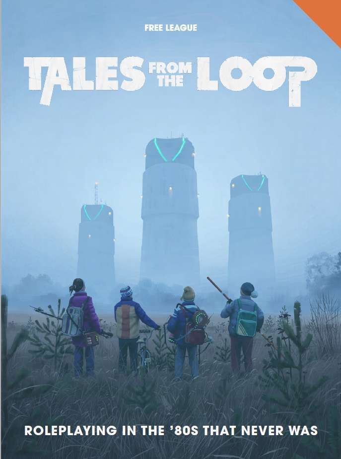Tales from the Loop. Image credit: DriveThruRPG