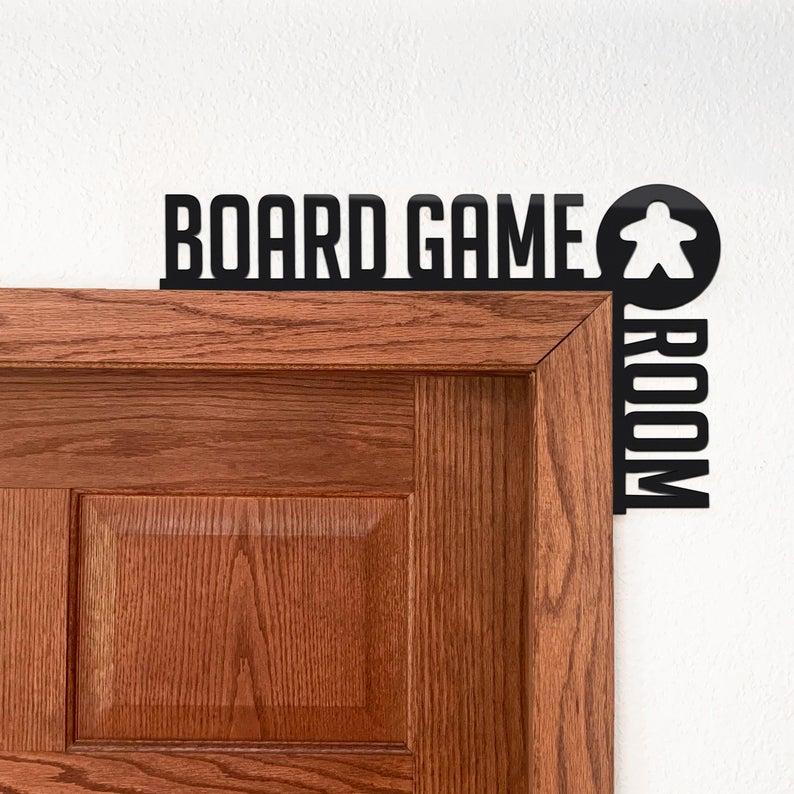 Board Game Room Sign. Image Credit: BeamGeeks on Etsy.