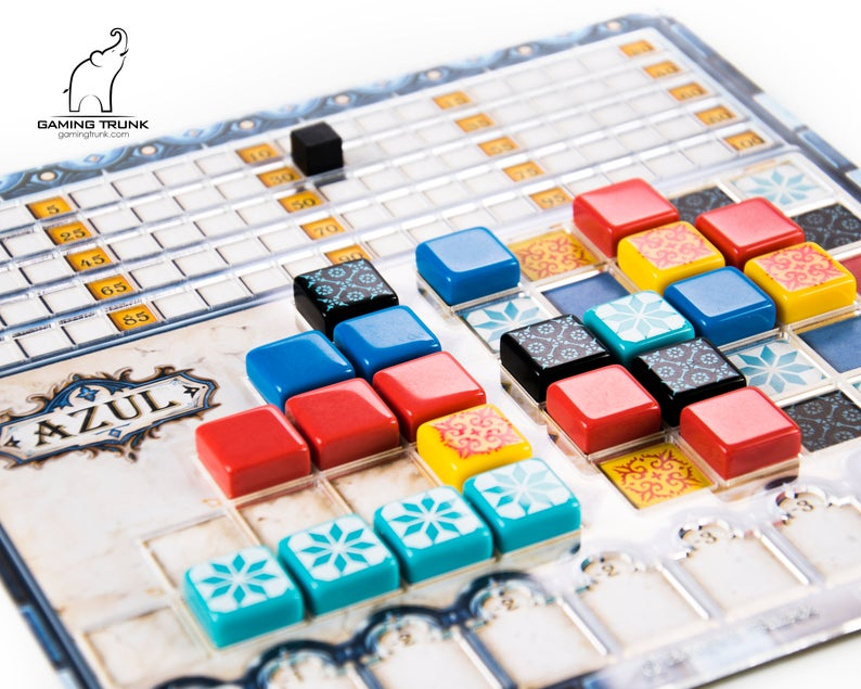 Azul board game overlay. Image credit: GamingTrunk on Etsy.