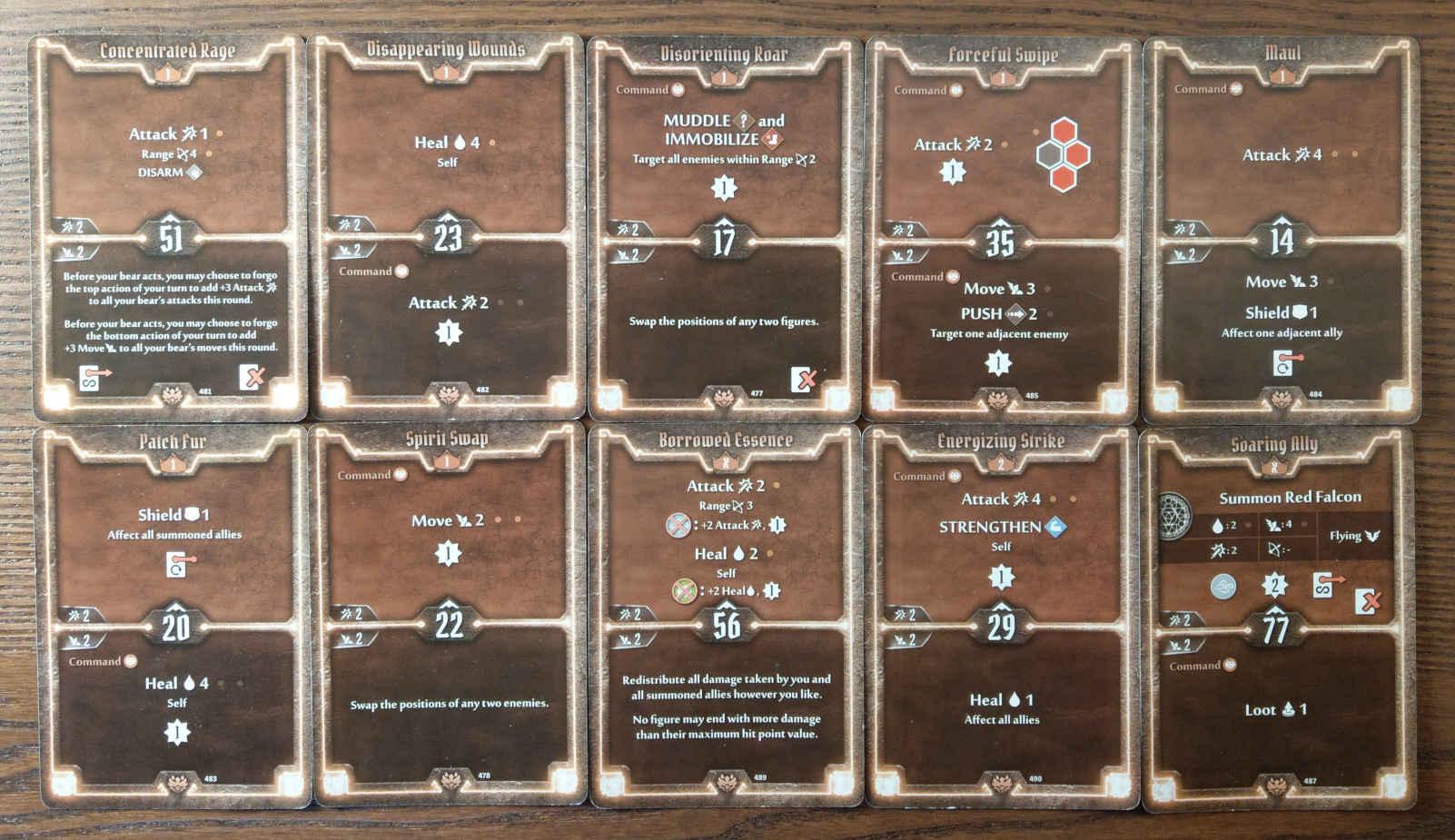 Beast Tyrant bear build level 2 deck