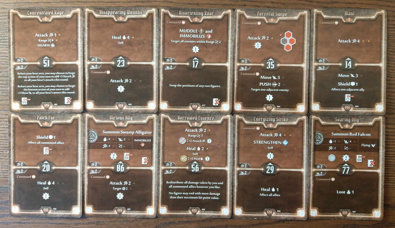 Beast Tyrant bear build level 3 deck