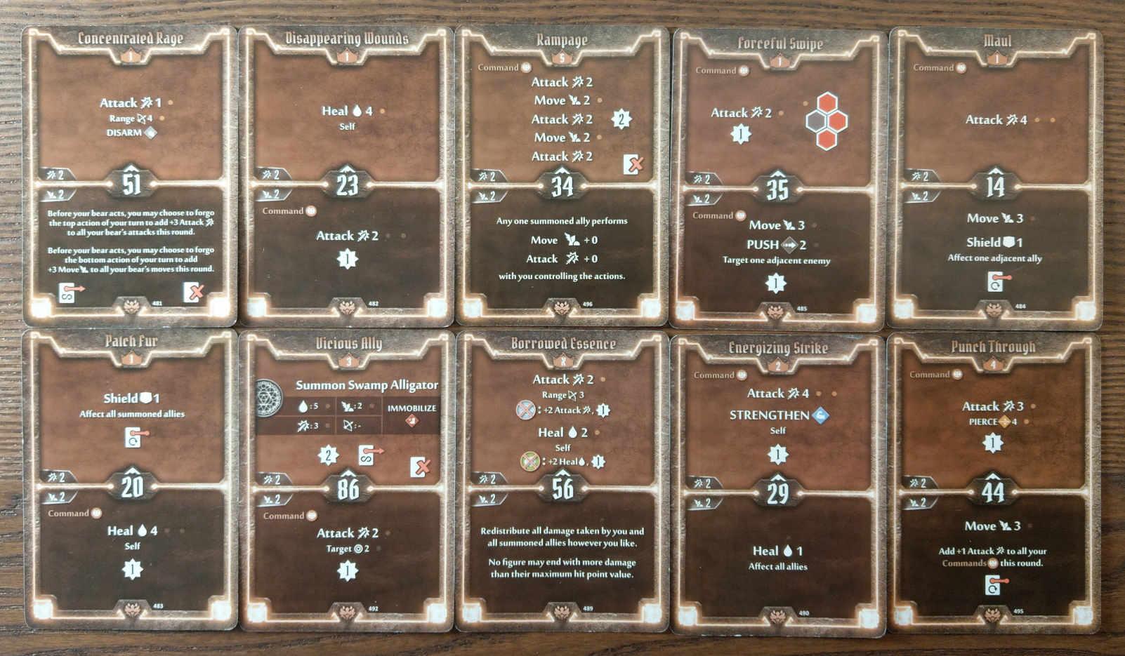 Beast Tyrant bear build level 5 deck