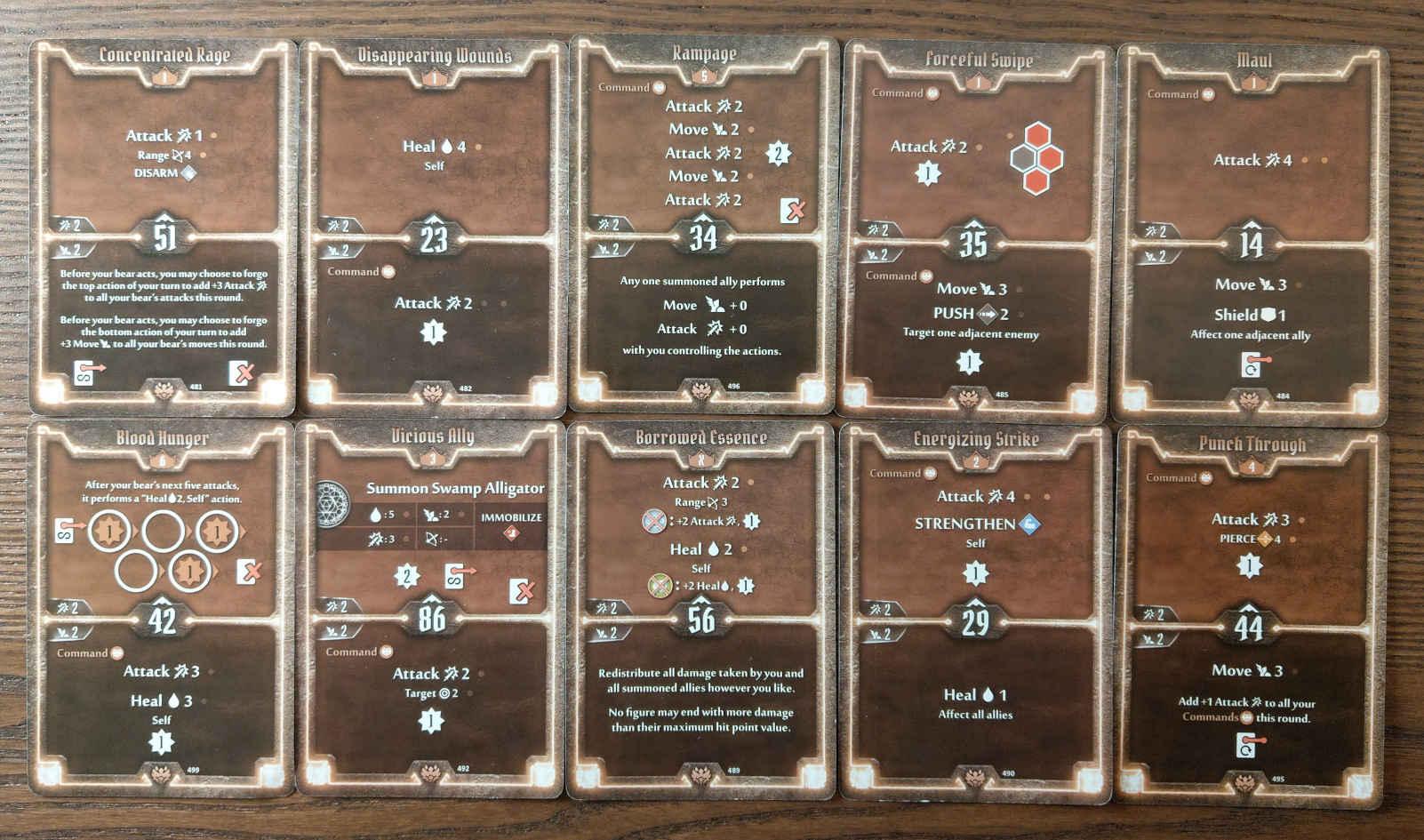 Beast Tyrant bear build level 6 deck