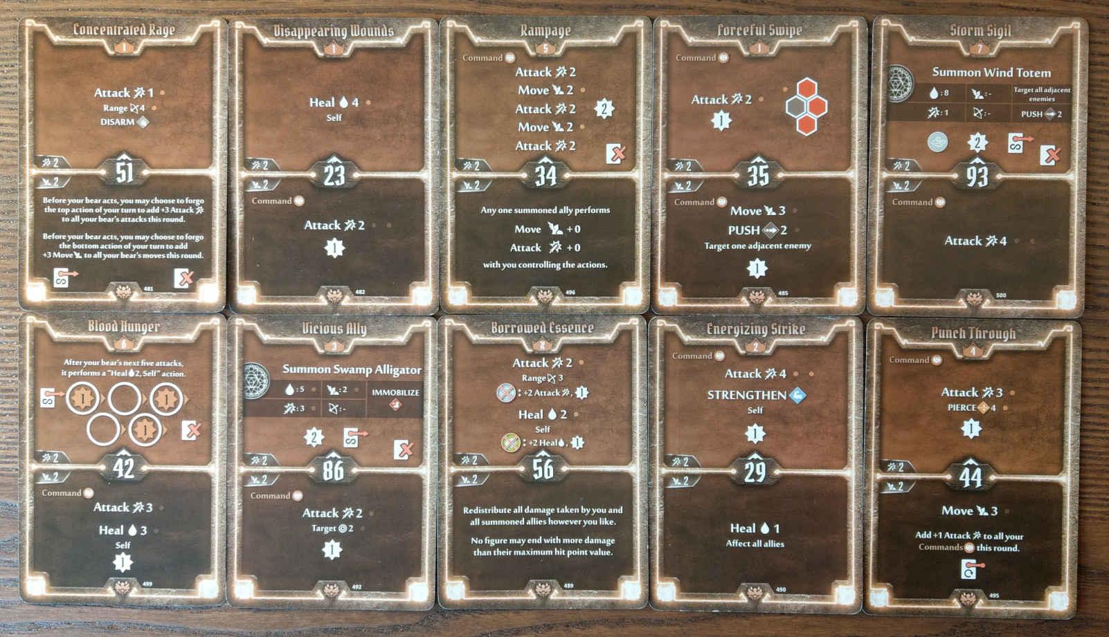 Beast Tyrant bear build level 7 deck