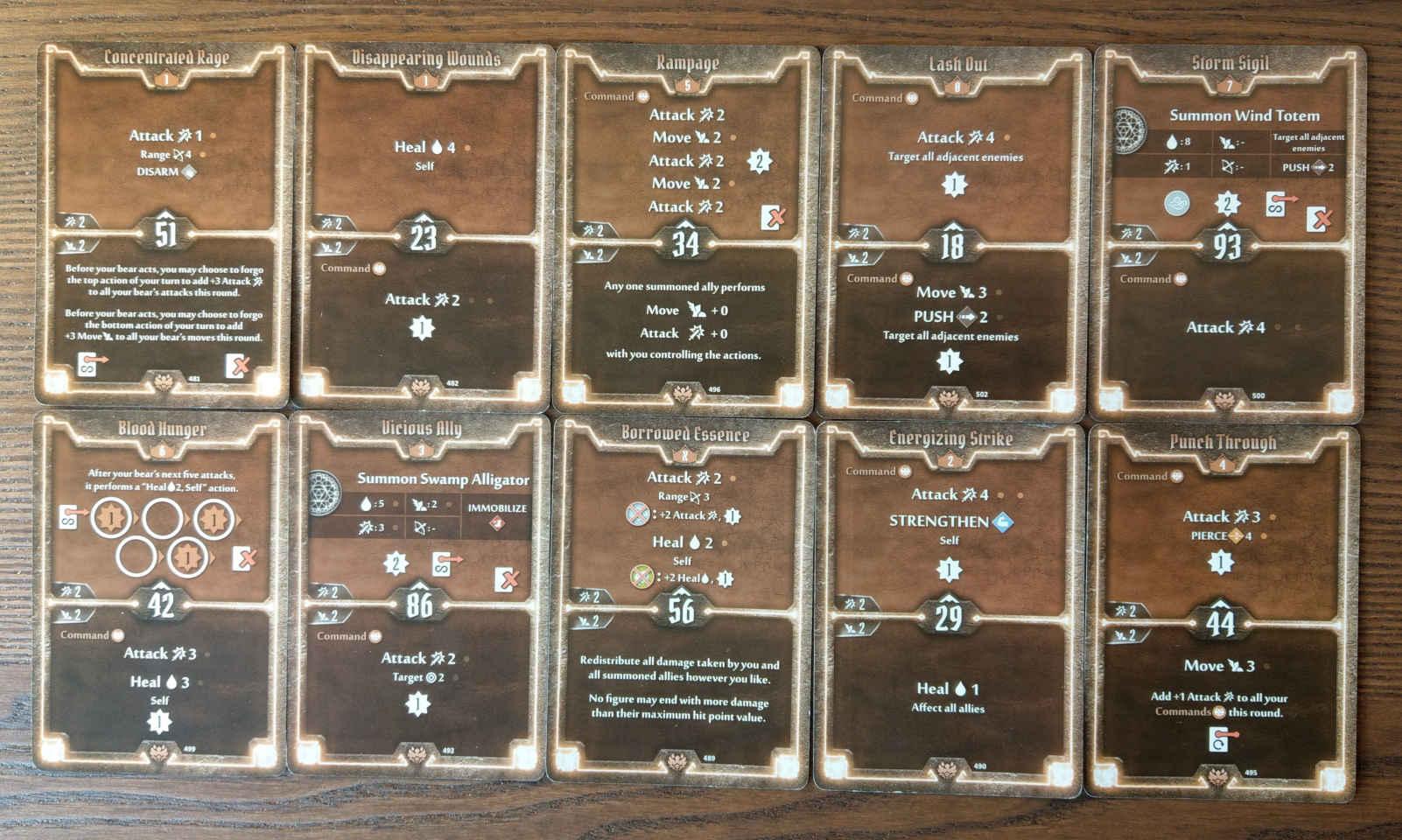 Beast Tyrant bear build level 8 deck