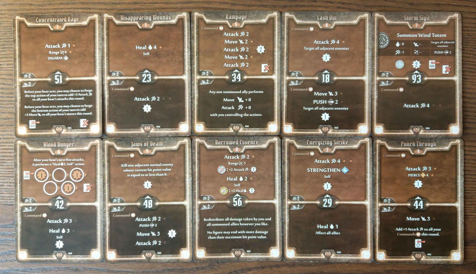 Beast Tyrant bear build level 9 deck