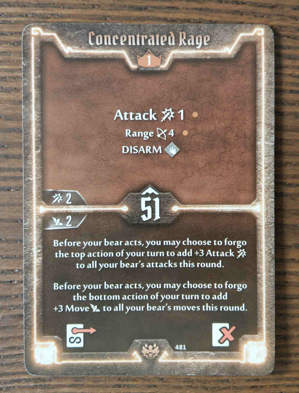 Beast Tyrant card Concentrated Rage