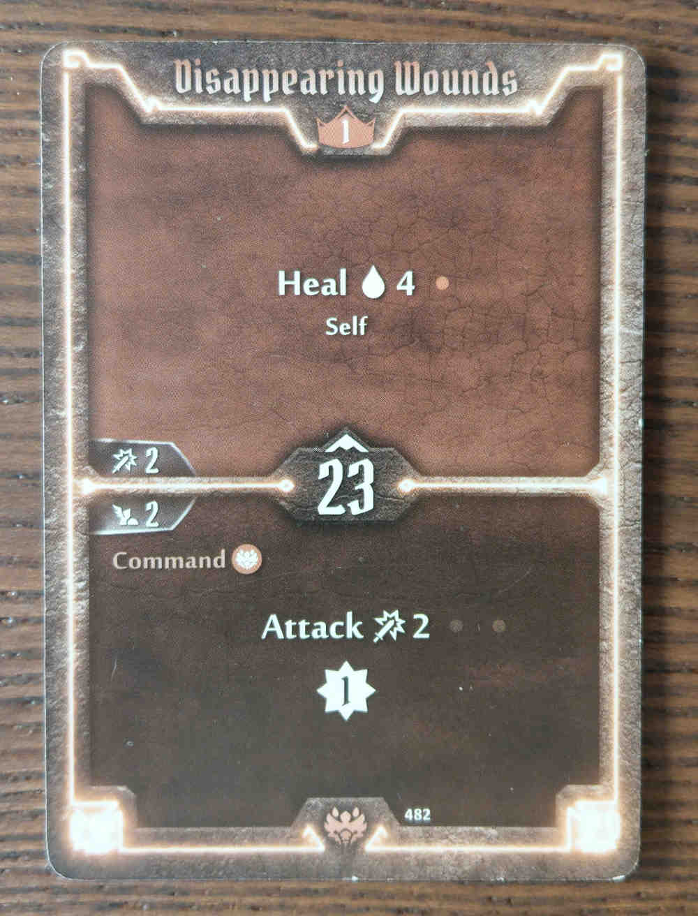 Beast Tyrant cards Disappearing Wounds