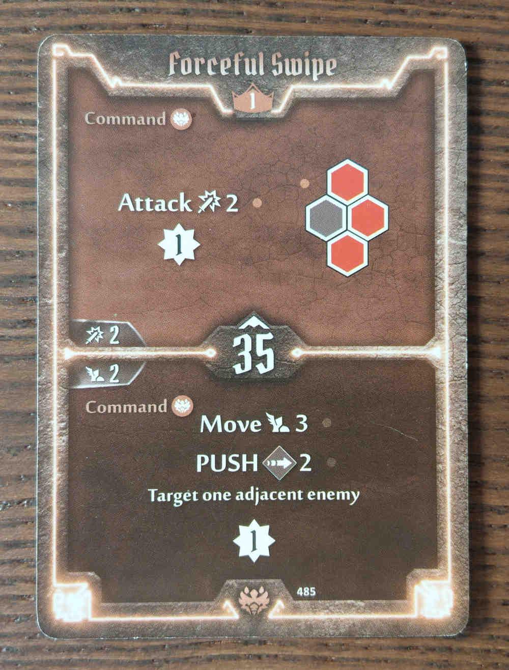 Beast Tyrant card Forceful Swipe
